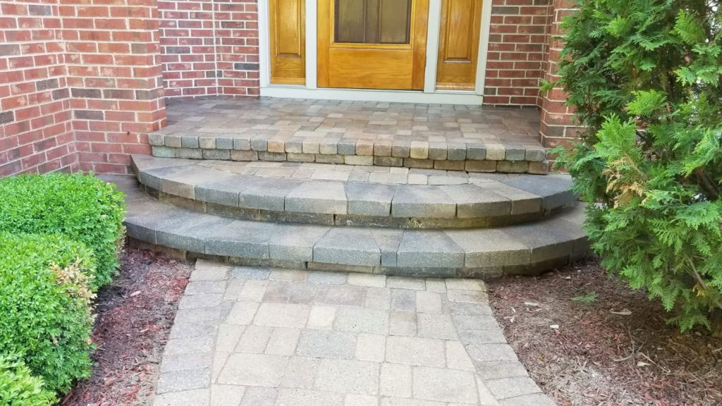 Paver Steps Repair and Sealing