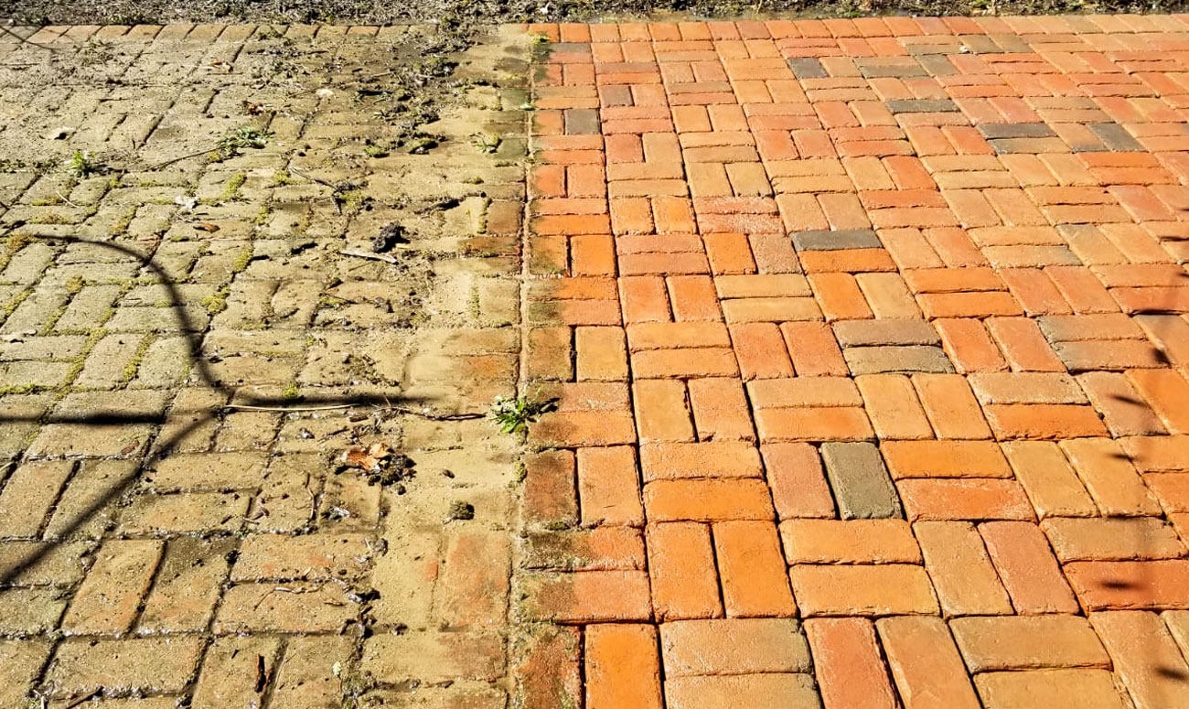 + Learn more about Paver Cleaning